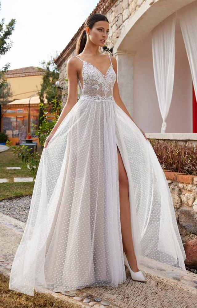 Herve Paris Bridal Aze Wedding Dress