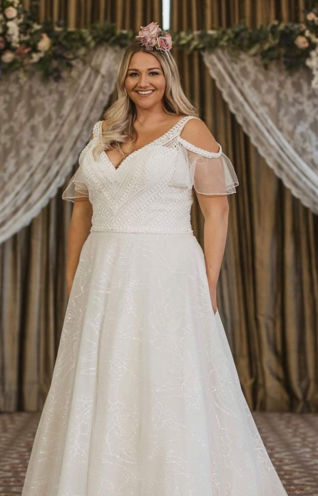 Victoria Kay Beauty BE102 Plus Size Wedding Dress