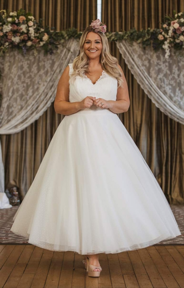 Victoria Kay Beauty BE107 Plus Size Wedding Dress