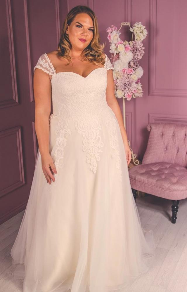Victoria Kay Beauty BE25 Plus Size Wedding Dress