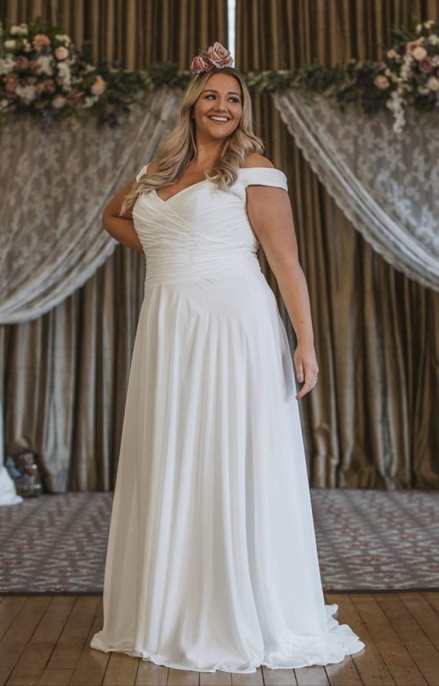 Victoria Kay Beauty BE95 Plus Size Wedding Dress