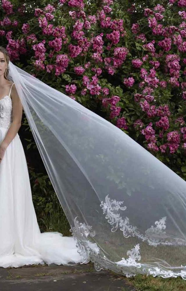 Joyce Jackson Wedding Veils Candy Tuft