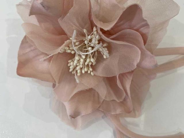 Emma Bridals Fascinator MBF1030 Rose
