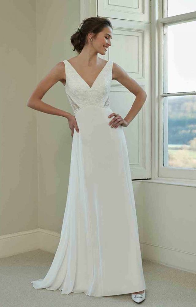Romantica Pure PB107 Budget Wedding Dress
