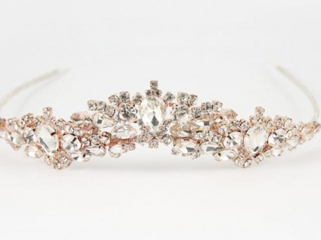 Richard Designs TR2571RS Sparkling Crystal tiara